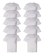 Gildan G830 Men Dryblend  5.6 Oz. 50/50 Pocket T-Shirt 10-Pack at GotApparel