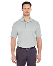 UltraClub 8320 Men Platinum Performance Jacquard Polo with Temp Control Technology at GotApparel