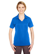 UltraClub 8320L Women's Platinum Performance Jacquard Polo with TempControl Technology at GotApparel