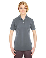 Ultraclub 8325L Women Platinum Performance Birdseye Polo With Tempcontrol Technology at GotApparel