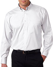 Ultraclub 8380 Men Noniron Pinpoint at GotApparel