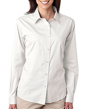 Ultraclub 8381 Women Noniron Pinpoint at GotApparel