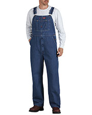 Dickies 8396SN Unisex Stonewashed Indigo Denim Bib Overall at GotApparel