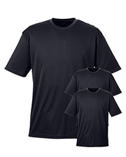 Ultraclub 8400 Men Cool & Dry Sport Tee 3-Pack at GotApparel