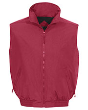 Tri-Mountain 8400 Men Ridge Rider Nylon Vest With Fleece Lining at GotApparel