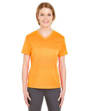 UltraClub 8400L Women Cool & Dry Sport V-Neck Tee at GotApparel