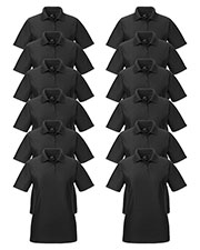 Ultraclub 8414 Women Cool & Dry Elite Performance Polo 12-Pack at GotApparel