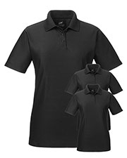 Ultraclub 8414 Women Cool & Dry Elite Performance Polo 3-Pack at GotApparel