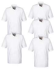 Ultraclub 8415 Men Cool & Dry Elite Performance Polo 5-Pack at GotApparel