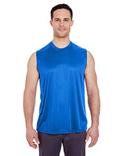UltraClub 8419 Adult Cool & Dry Sport Performance Interlock Sleeveless Tee at GotApparel