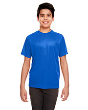 UltraClub 8420Y Boys Cool & Dry Sport Performance Interlock Tee at GotApparel