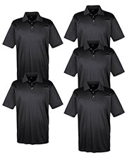 Ultraclub 8425 Men Cool & Dry Sport Performance Interlock Polo 5-Pack at GotApparel