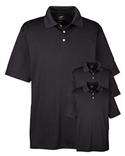 Ultraclub 8445 Men Cool & Dry Stain-Release Performance Polo 3-Pack at GotApparel