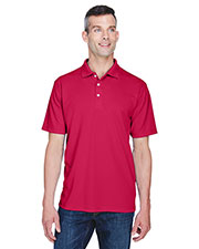 Ultraclub 8445 Men Cool & Dry Stain-Release Performance Polo at GotApparel