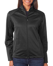UltraClub 8477L Women Soft Shell Jacket at GotApparel