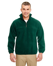 UltraClub 8480 Men Iceberg Fleece 1/4-Zip Pullover at GotApparel