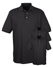 Ultraclub 8535 Men Classic Pique Polo 3-Pack at GotApparel