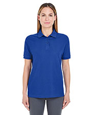 UltraClub 8541 Women Whisper Pique Polo at GotApparel