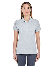 UltraClub 8550L Women's Basic Pique Polo at GotApparel