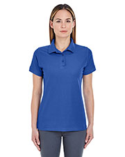 UltraClub 8560L Women's Basic Blended Pique Polo at GotApparel