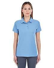 UltraClub 8560L Women Basic Blended Pique Polo at GotApparel