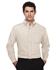Tri-Mountain 860 Men Convention Rayon/Poly Long-Sleeve Shirt at GotApparel