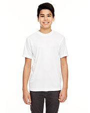 UltraClub 8620Y Boys Cool & Dry Basic Performance Tee at GotApparel
