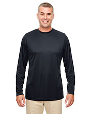 UltraClub 8622  Men's Cool & Dry Performance Long-Sleeve Top at GotApparel