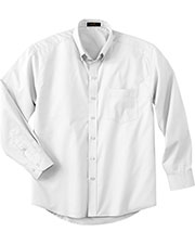 Ash City 87015T Men Tall Long Sleeve Easy Care Twill Shirt at GotApparel