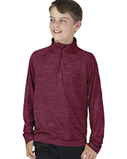 Charles River Apparel 8763  Youth Space Dye Performance Pullover at GotApparel
