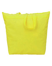 UltraClub 8802 Liberty Bags Large Tote With Zipper Closure-50% Recycled Polyester at GotApparel
