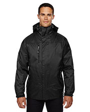 North End 88120 Men Performance 3-in-1 SeamSealed Hooded Jacket at GotApparel