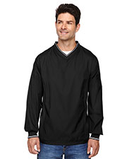 North End 88132 Men V-Neck Unlined Wind Shirt at GotApparel