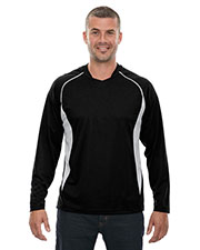 North End 88158 Men Athletic Long Sleeve Sport Top at GotApparel