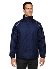 Core 365 88185 Men Climate Seam-Sealed Lightweight Variegated Ripstop Jacket at GotApparel