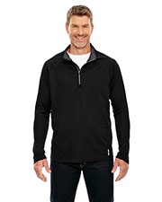 North End 88187 Men Radar Half-Zip Performance Long-Sleeve Top at GotApparel