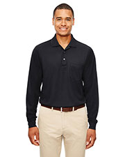 Ash City 88192P  Pinnacle Performance Piqué Long-Sleeve Polo With Pocket at GotApparel