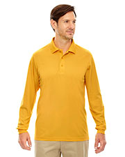 Core 365 88192 Men Pinnacle Performance Long Sleeve Pique Polo at GotApparel