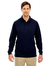 Core 365 88192 Men Pinnacle Performance Long-Sleeve Pique Polo at GotApparel