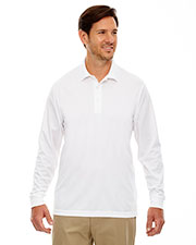 Core 365 88192T Men Tall Pinnacle Performance Long-Sleeve Pique Polo at GotApparel