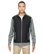 North End 88202 Men Victory Hybrid Performance Fleece Jacket at GotApparel