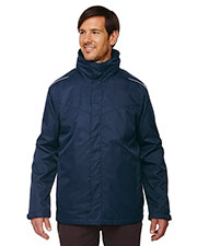 Core 365 88205T Men Tall Region 3-in-1 Jacket with Fleece Liner at GotApparel