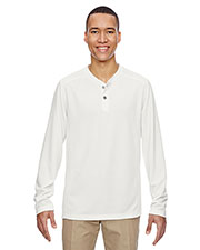 North End 88221 Men Excursion Nomad Performance Waffle Henley at GotApparel