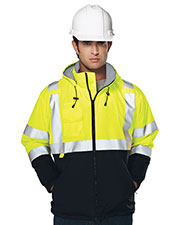 Tri-Mountain 8831 Men's Beacon Water Resistant Fleece Lined Safety Jacket at GotApparel