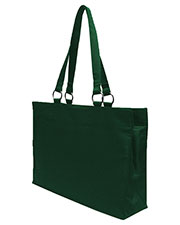 UltraClub 8832 Women Large Microfiber Tote at GotApparel