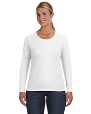 Anvil 884L Women Lightweight Long-Sleeve T-Shirt at GotApparel