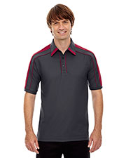 North End 88648 Men Sonic Performance Polyester Pique Polo at GotApparel