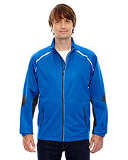 North End 88654 Men Dynamo Three-Layer Lightweight Bonded Performance Hybrid Jacket at GotApparel