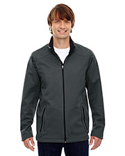 North End 88655 Men Splice Three-Layer Light Bonded Soft Shell Jacket with Laser Welding at GotApparel