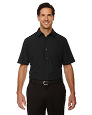 North End 88675 Men Charge Recycled Polyester Performance short sleeve Shirt at GotApparel